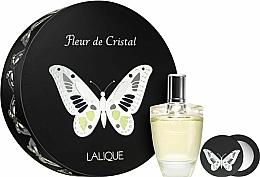 Voňavky, Parfémy, kozmetika Lalique Fleur de Cristal - Sada (edp/100ml + mirror)