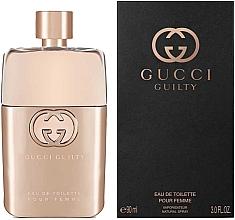 Voňavky, Parfémy, kozmetika Gucci Guilty Eau de Toilette Pour Femme - Toaletná voda