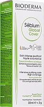 Voňavky, Parfémy, kozmetika Tónovací krém - Bioderma Sebium Global Cover Cream