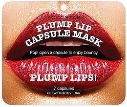 Voňavky, Parfémy, kozmetika Sérum v kapsule na zväčšenie objemu pier - Kocostar Plump Lip Capsule Mask Pouch