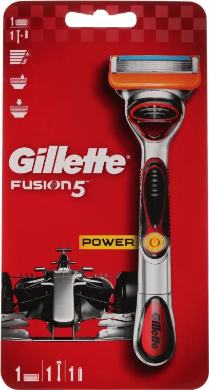 Holiaci strojček s 1 vymeniteľnou kazetou - Gillette Fusion5 ProGlide Power