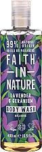 Voňavky, Parfémy, kozmetika Sprchový gél - Faith in Nature Lavender & Geranium Body Wash