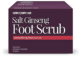 Voňavky, Parfémy, kozmetika Peeling na nohy upokojujúce - Natura Siberica Fresh Spa Kam-Chat-Ka Salt Ginseng Foot Scrub