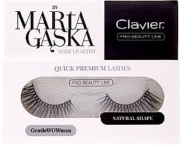 Voňavky, Parfémy, kozmetika Falošné mihalnice - Clavier Quick Premium Lashes GentleWOWman 803