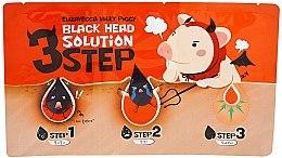 Voňavky, Parfémy, kozmetika 3 kroky na odstránenie čiernych bodiek - Elizavecca Milky Piggy Black Head Solution 3 Step