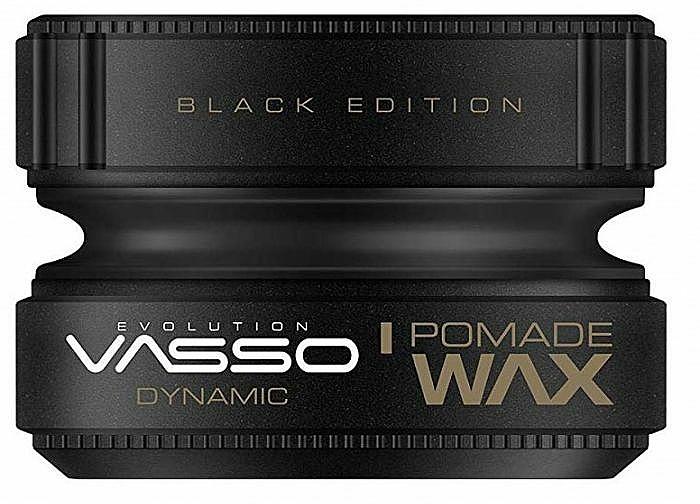Pomáda na úpravu vlasov - Vasso Professional Hair Styling Pomade Wax Black Edition Dynamic — Obrázky N1