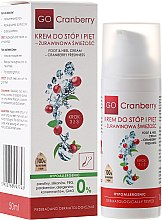 Voňavky, Parfémy, kozmetika Zmäkčujúci krém na nohy a päty s močovinou - GoCranberry Cosmetics Foot and Heel Cream
