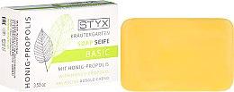 "Voňavky, Parfémy, kozmetika Mydlo ""Med a propolis"" - Styx Naturcosmetic Basic Soap With Honey-Propolis"