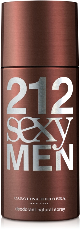 Carolina Herrera 212 Sexy Men - Deodorant — Obrázky N1
