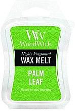 Voňavky, Parfémy, kozmetika Vonný vosk - WoodWick Wax Melt Palm Leaf