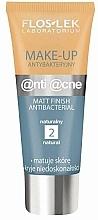 Voňavky, Parfémy, kozmetika Antibakteriálny matujúci krém - Floslek Anti Acne Make Up