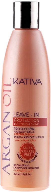 Revitalizujúci vlasový koncentrát s arganovým olejom - Kativa Argan Oil