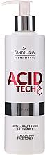Voňavky, Parfémy, kozmetika Peelingový tonikum - Farmona Professional Acid Tech Exfoliating Face Toner