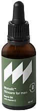 Voňavky, Parfémy, kozmetika Olej s vitamínom E na bradu  - Monolit Skincare For Men Beard Oil With Vitamin E