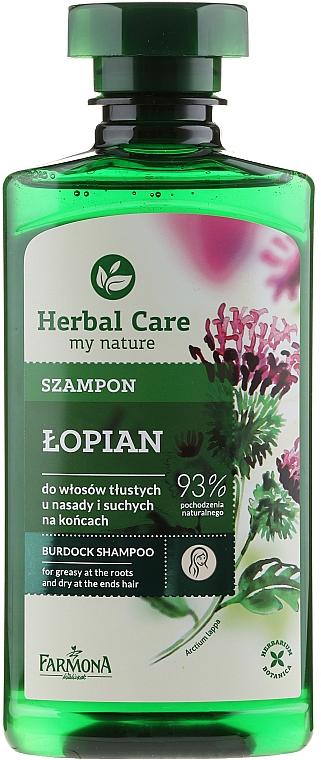 """Šampón na vlasy """"Lopúchový"""" - Farmona Herbal Care Shampoo"""