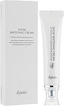 Voňavky, Parfémy, kozmetika Hydratačný krém na rozjasnenie pleti - Esfolio Snow Whitening Cream