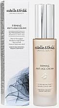 Voňavky, Parfémy, kozmetika Protistarnúci krém na tvár - Estelle & Thild Super BioActive Firming Anti-Age Cream