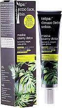 Voňavky, Parfémy, kozmetika Detox maska na tvár - Tolpa Dermo Face Sebio Black Detox Mask
