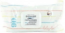 Voňavky, Parfémy, kozmetika Detské vlhčené utierky, 90 ks - Byphasse Baby Cleansing Wipes Face and Body