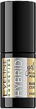 Voňavky, Parfémy, kozmetika Hybridný základný náter na nechty - Eveline Cosmetics Hybrid Professional Base Coat
