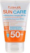 Voňavky, Parfémy, kozmetika Ochranný tonizačný krém SPF 50+ - Floslek Sun Protection Tinder Cream SPF50+