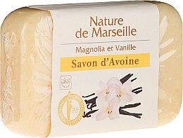 Voňavky, Parfémy, kozmetika Ovsené mydlo s aromou magnólie a vanilky - Nature de Marseille Soap