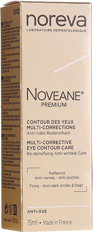 Krém na kontúrovanie oči multifunkčný - Noreva Laboratoires Noveane Premium Multi-Corrective Eye Care