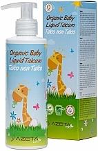 Voňavky, Parfémy, kozmetika Organický detský krém s tekutým mastencom - Azeta Bio Organic Baby Liquid Talcum