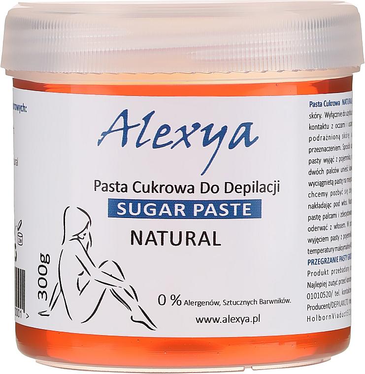 Pasta pre depiláciu - Alexya Sugar Paste For Depilation Natural