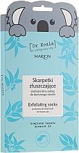 Voňavky, Parfémy, kozmetika Exfoliačná maska-ponožky na nohy - Marion Dr Koala Exfoliating Socks