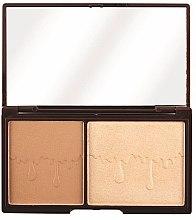 Voňavky, Parfémy, kozmetika Kontúrovacia paleta na tvár - I Heart Revolution Palette