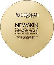 Voňavky, Parfémy, kozmetika Kompaktný púder-základ na tvár - Deborah New Skin Compact Foundation