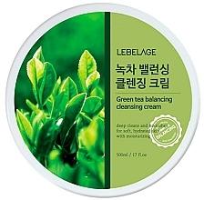 Voňavky, Parfémy, kozmetika Čistiaci krém na tvár  - Lebelage Green Tea Balancing Cleansing Cream