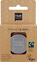 """Voňavky, Parfémy, kozmetika Balzam na pery """"Mandle"""" - Fair Squared Lip Balm Almond"""