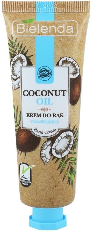 """Krém na ruky """"Kokosový olej"""" - Bielenda Moisturising Hand Cream — Obrázky N1"""