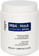 Voňavky, Parfémy, kozmetika Regeneračná maska pre farbené vlasy s hydrolyzovaným keratínom - Dikson M84 Repair Mask