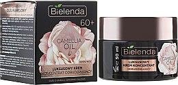 Voňavky, Parfémy, kozmetika Regeneračný koncentrovaný krém 60+ - Bielenda Camellia Oil Luxurious Rebuilding Cream 60+