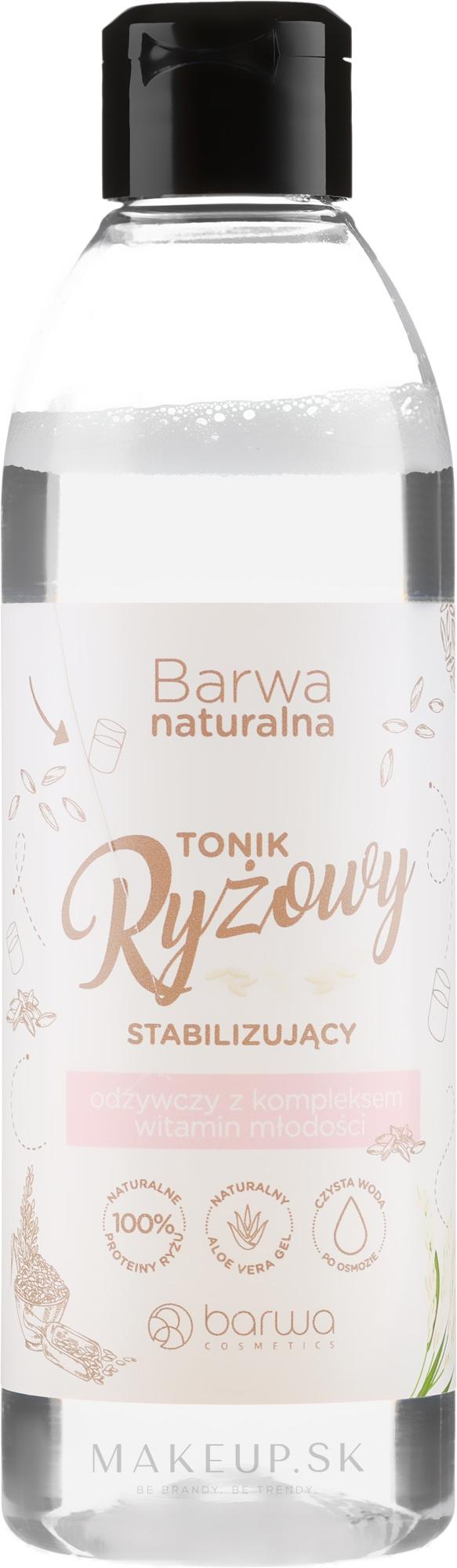 Stabilizačné výživné rýžové tonikum na tvár - Barwa Natural — Obrázky 300 ml