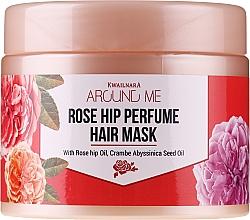 Voňavky, Parfémy, kozmetika Maska na poškodené vlasy - Welcos Around Me Rose Hip Perfume Hair Mask