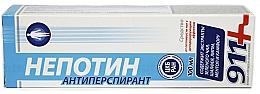 """Voňavky, Parfémy, kozmetika Gél proti poteniu nôh s dezodoračným účinkom """"Nepotin"""" - 911"""