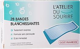 Voňavky, Parfémy, kozmetika Pásiky na bielenie zubov s malinovou príchuťou - L'Atelier Du Sourire