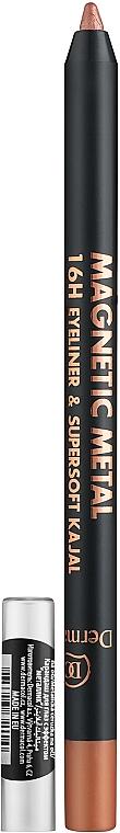 Kayal ceruzka na oči - Dermacol Magnetic Metal 16H Eyeliner