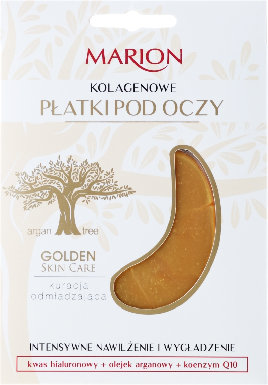 Kolagénové náplasti pod oči - Marion Golden Skin Care Collagens Flakes Eye