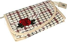 """Voňavky, Parfémy, kozmetika Kozmetická taška """"Rose"""", 95818, bežová - Top Choice"""