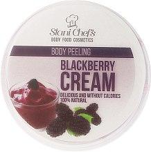"""Voňavky, Parfémy, kozmetika Scrub na telo """"Ostružinový krém"""" - Hristina Stani Chef'S Blackberry Cream Body Peeling"""