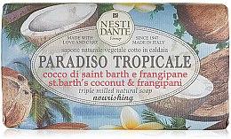 """Voňavky, Parfémy, kozmetika Mydlo """"Kokos a jazmín"""" - Nesti Dante Paradiso Tropicale St. Barths Coconut & Frangipane Soap"""