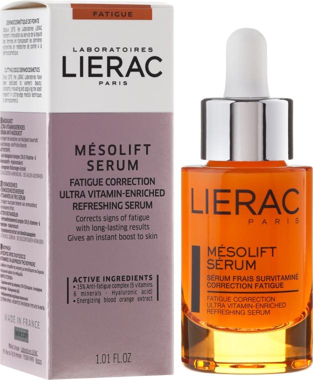 Sérum s vitamínmi proti únave - Lierac Mesolift Serum
