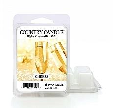 Voňavky, Parfémy, kozmetika Vosk na aromatickú lampu - Country Candle Cheers Cheesecake Wax Melts