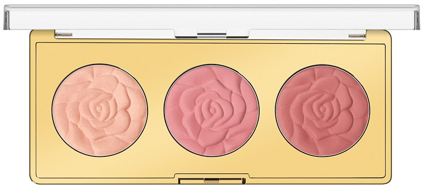 Paletka líceniek - Milani Powder Blush Rose Blush Palette — Obrázky N1