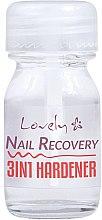 Voňavky, Parfémy, kozmetika Tužidlo na nechty 3 v 1 - Lovely Nail Recovery 3 in 1 Hardener